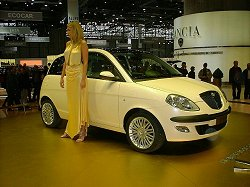 2003 Lancia Ypsilon. Image by ItaliaSpeed.