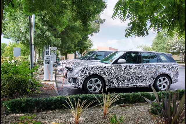 Plugin Range Rover here in time for Christmas. Image by Land Rover.