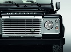 2014 Land Rover Defender Black and Silver Editions. Image by Land Rover.