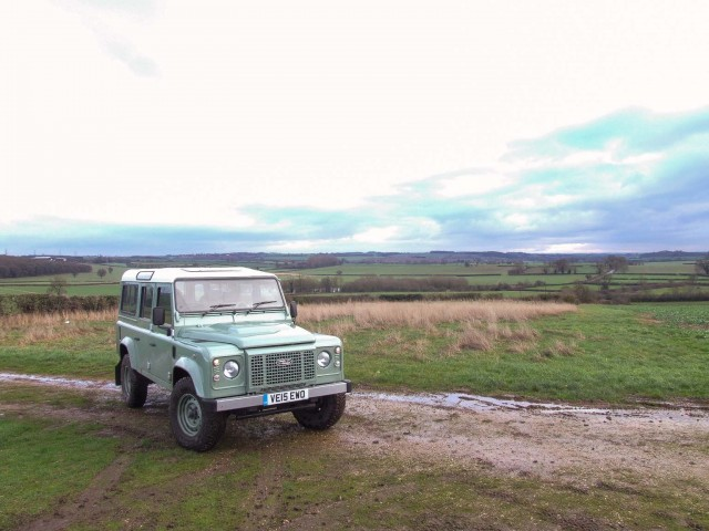 Driven: Land Rover Defender Heritage. Image by Matt Robinson.