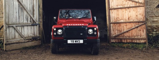 Land Rover Defender Works V8 70th Edition: a £150k special. Image by Land Rover.