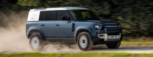 Land Rover Hard Top returns. Image by Land Rover.