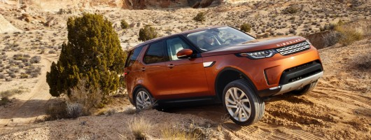 First drive: Land Rover Discovery. Image by Land Rover.