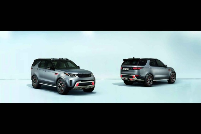 Land Rover unleashes Discovery SVX. Image by Land Rover.