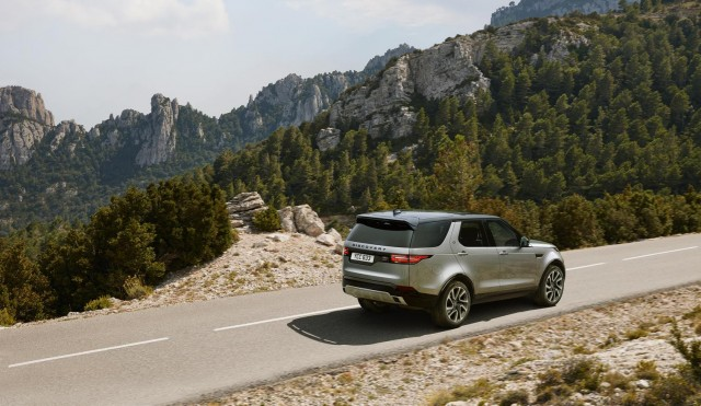 First drive: Land Rover Discovery Landmark. Image by Land Rover.
