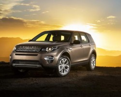 New Discovery Sport SUV. Image by Land Rover.