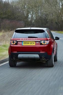 2015 Land Rover Discovery Sport. Image by Land Rover.