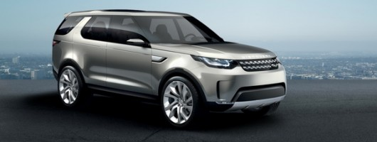 New Land Rover Discovery previewed. Image by Land Rover.