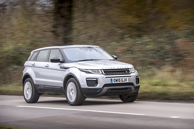 Driven: Range Rover Evoque. Image by Land Rover.