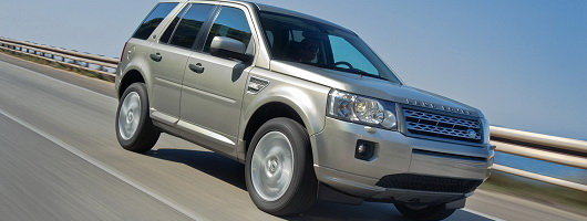 2011 Freelander features two-wheel drive. Image by Land Rover.