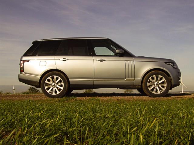 Driven: Range Rover TDV6. Image by Matt Robinson.