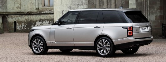 Revised Range Rover goes electric. Image by Land Rover.