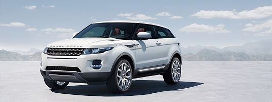 Baby Range Rover Evoque revealed. Image by Land Rover.