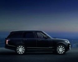 2015 Range Rover Sentinel. Image by Land Rover.
