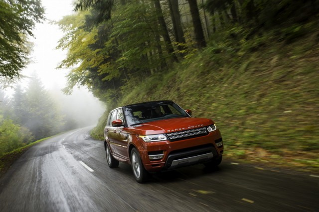 First drive: Range Rover Sport SDV8. Image by Land Rover.