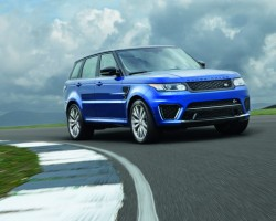 Incoming: Range Rover Sport SVR. Image by Land Rover.