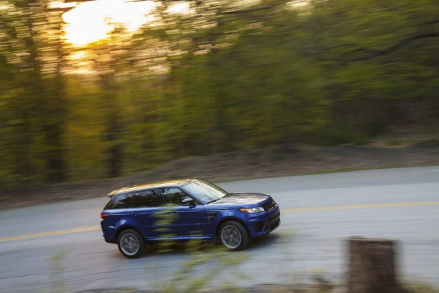 First drive: Range Rover Sport SVR. Image by Land Rover.