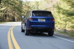 2015 Range Rover Sport SVR. Image by Land Rover.