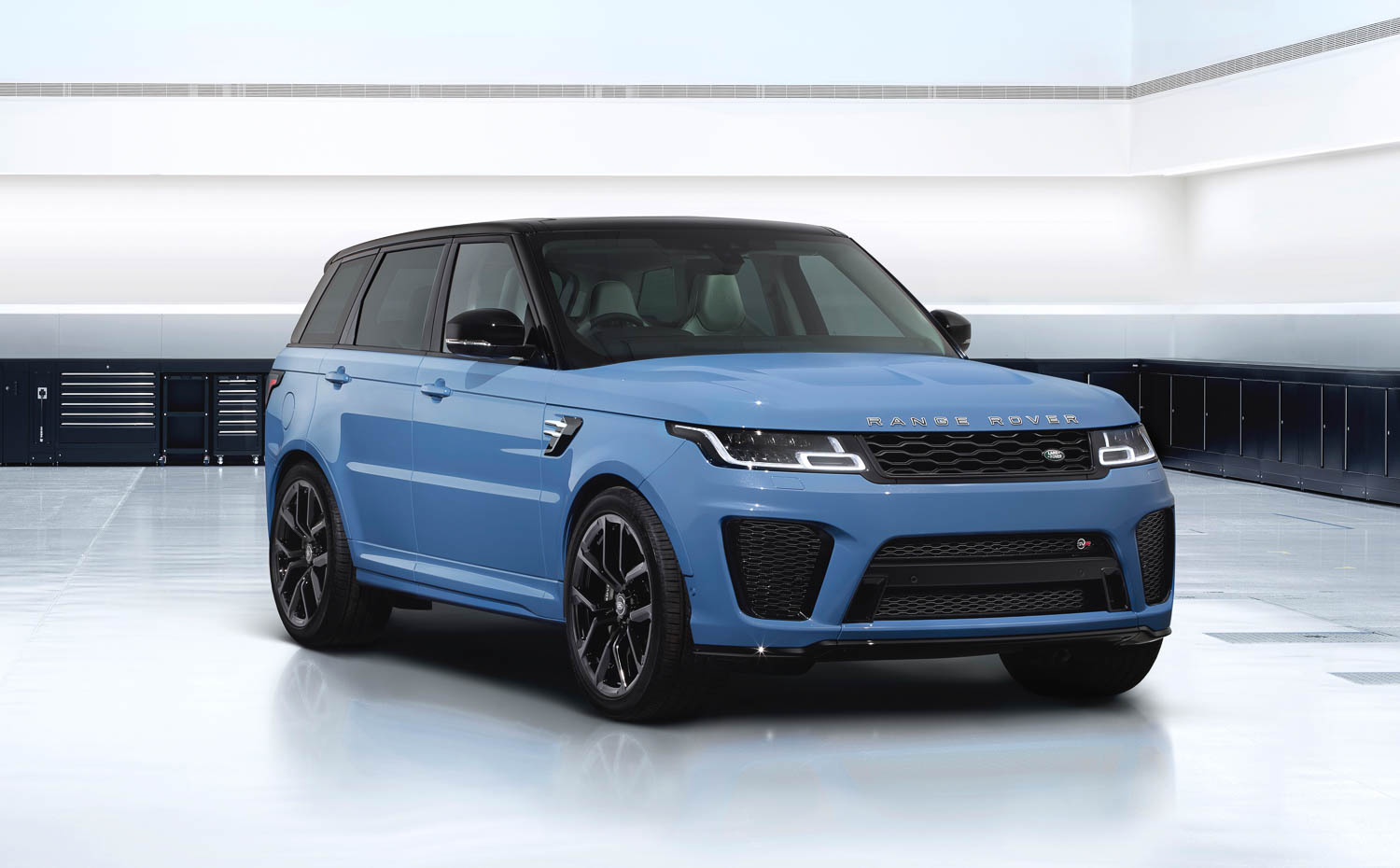 Is this the ultimate Range Rover Sport SVR? Image by Land Rover.
