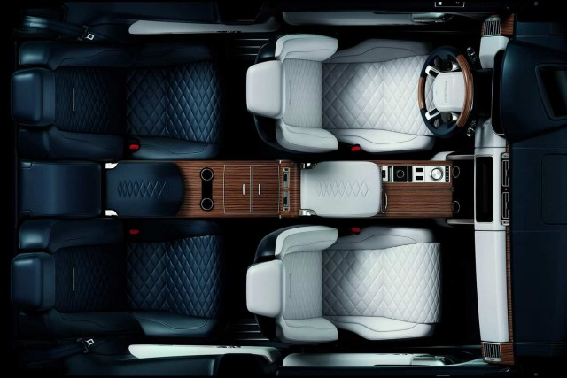 The two-door Range Rover rides again! Image by Land Rover.