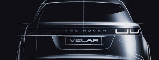 Range Rover Velar previewed. Image by Land Rover.