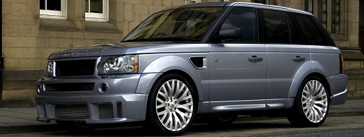 A Range Rover Cosworth. Image by Kahn.