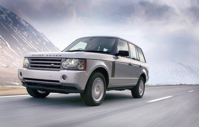 Range Rover sparks up. Image by Land Rover.