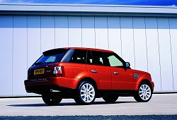 2005 Range Rover Sport. Image by Land Rover.