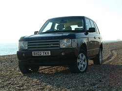 2002 Range Rover V8 Vogue. Photograph by Adam Jefferson. Click here for a larger image.