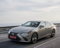 New Lexus ES 300h. Image by Lexus.