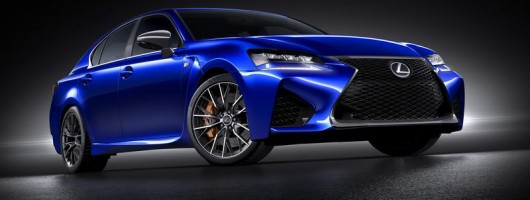 High performance Lexus GS F breaks cover. Image by Lexus.