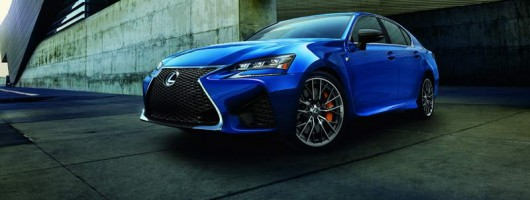 Lexus GS F ducks the horsepower war. Image by Lexus.