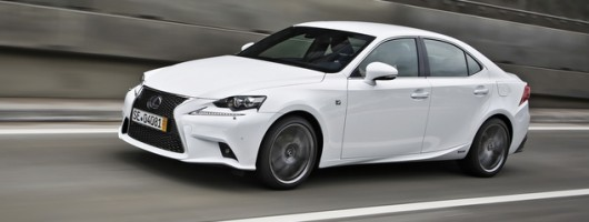 First drive: Lexus IS 300h. Image by Lexus.
