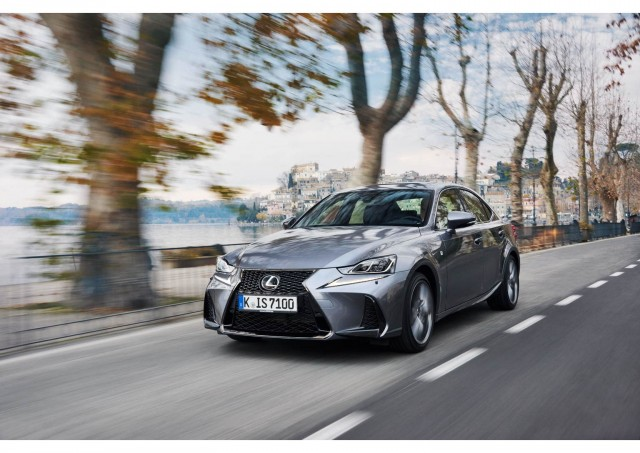 First drive: 2017MY Lexus IS 300h. Image by Lexus.