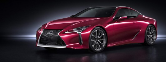 Lexus unleashes stunning LC 500 on the world. Image by Lexus.