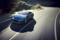 2016 Lexus LC 500h. Image by Lexus.