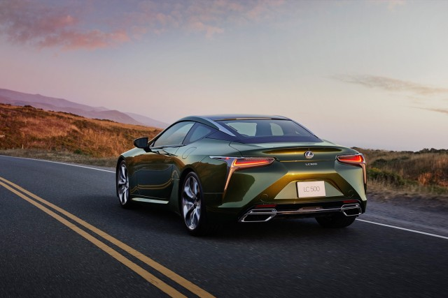 Lexus sexes up LC with Limited Edition. Image by Lexus.