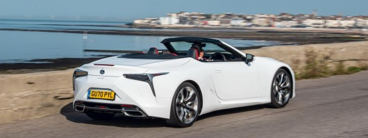 First drive: Lexus LC Convertible. Image by Lexus.