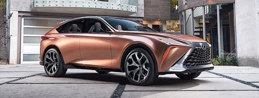Lexus unveils LF-1 Limitless. Image by Lexus.