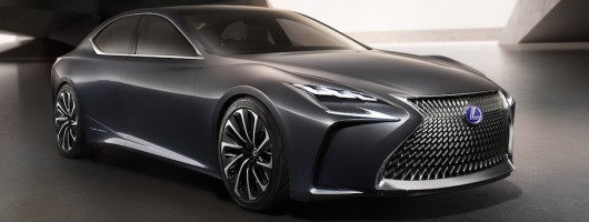 Hydrogen powered Lexus LF-LC could be new LS. Image by Lexus.