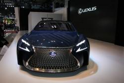 2015 Lexus LF-FC concept. Image by Newspress.