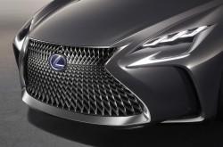 2016 Lexus LF-FC concept. Image by Lexus.