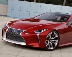 2012 Detroit Auto Show. Image by Lexus.