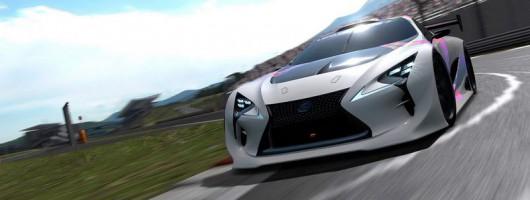 Lexus reveals Gran Turismo racer. Image by Lexus.