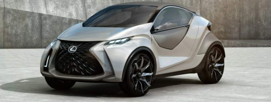 Lexus LF-SA previews new MINI rival. Image by Lexus.