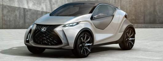 Lexus LF-SA previews new MINI rival. Image by Lexus.