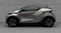 2015 Lexus LF-SA concept. Image by Lexus.