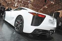 2011 Lexus LFA. Image by United Pictures.