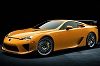 2011 Lexus LFA with Nurburgring Package. Image by Lexus.