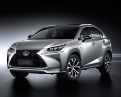 NX crossover unveiled by Lexus. Image by Lexus.